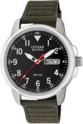Citizen Men's Black Eco-Drive Watch.