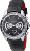 Accurist Men's Chronograph Rotating Disc Watch.