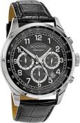 Sekonda Classique Men's Black Dial Chronograph Watch.
