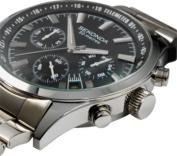 Sekonda Men's Black Dial Chronograph Watch.