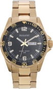 Accurist Men's Gold Plated Sports Watch.