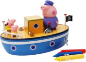 Peppa Pig's Muddy Puddle Bathtime Boat.