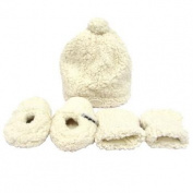 Jj Cole Bundleme Hat, Mittens and Booties Set