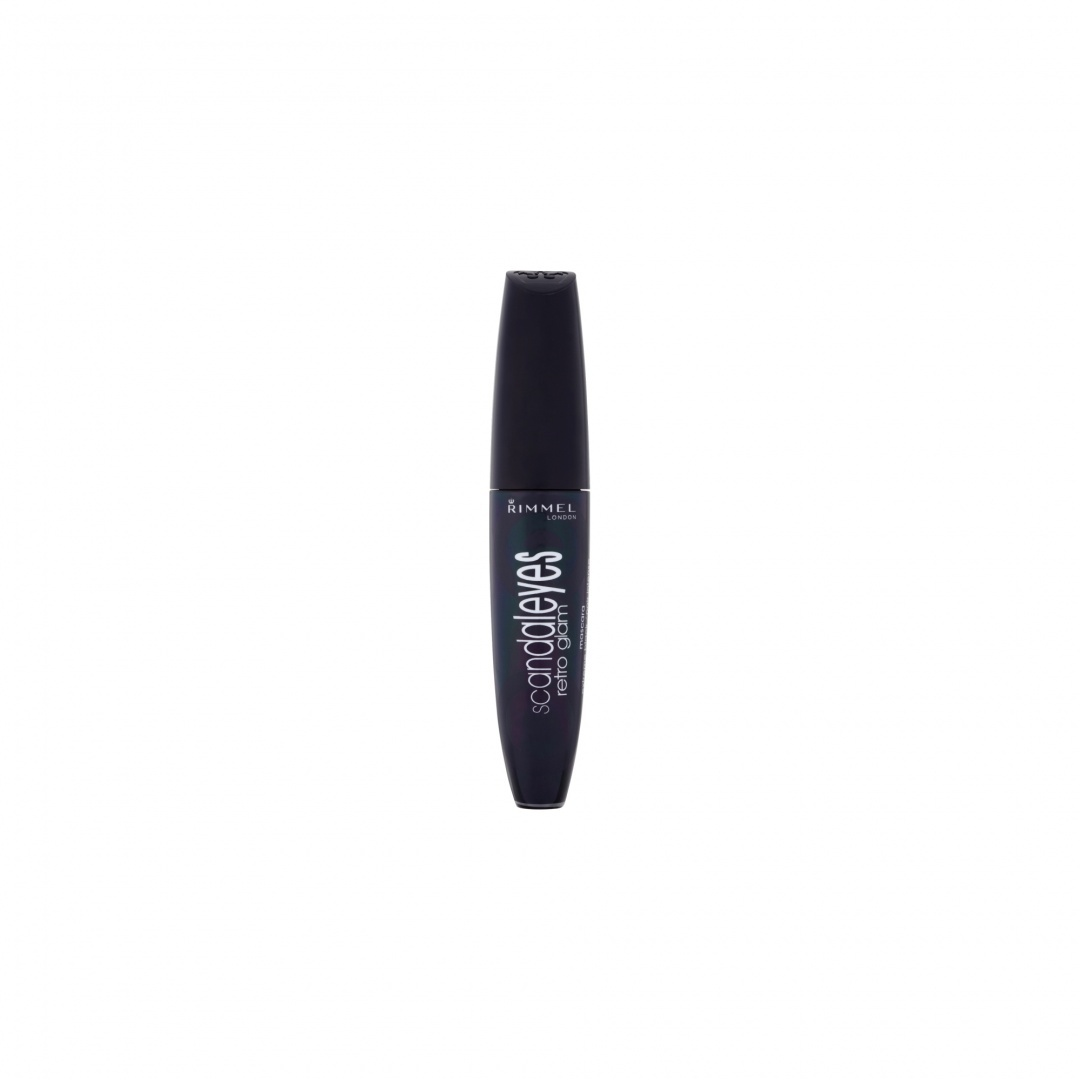 3e49ef64daf Rimmel London ScandalEyes Retro Glam Extreme Black Mascara 12ml by ...
