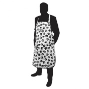 Wahl Paw Print Apron - Black and White