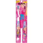 Reach Barbie Soft Toothbrushes, 2 count