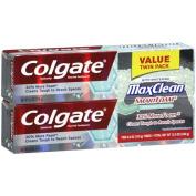 Colgate Max Clean SmartFoam Spearmint Blast Toothpaste, 180ml, 2 count