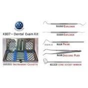 Osung K807 Dental Exam Instruments and Tools Kit