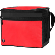 Ozark Trail 24-Can Collapsible Cooler with Cold Sensor, Red