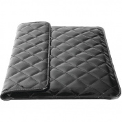 iEssentials IE-QLT-7BK 18cm Tablet Quilted Case, Black