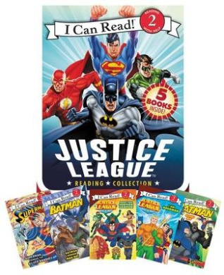 Justice League Reading Collection (I Can Read Books: Level 2)