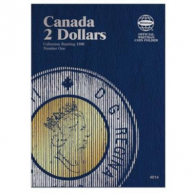 Canada 2 Dollars Collection Starting 1996, Number 1 (Whitman Official Coin Folders)