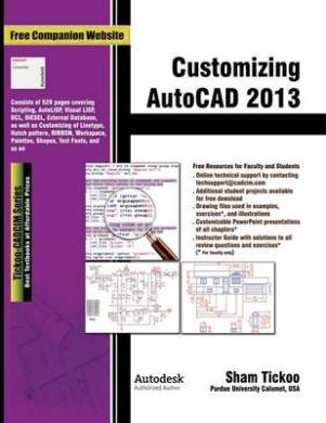 Customizing AutoCAD 2013