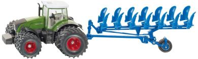 Fendt Tractor on Duals w Plough