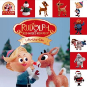 Rudolph the Red-Nosed Reindeer Lift-The-Tab (Lift-The-Flap Tab Books) [Board book]