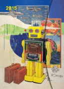 2015 Robot Art Magneto Diary Sml 10 x 15cm