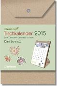 2015 Dan Bennett Greenline Desk Calendar