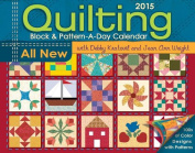 Quilting Block & Pattern-a-Day 2015 Activity Box