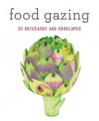 Food Gazing Notecard Set : 20 Notecards and Envelopes