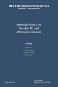Materials Issues for Tunable RF and Microwave Devices