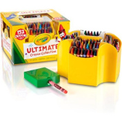. Ultimate Crayon Collection; Art Tools; 152 Colours, Durable Storage Case, Long-Lasting Colours