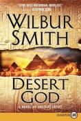 Desert God [Large Print]