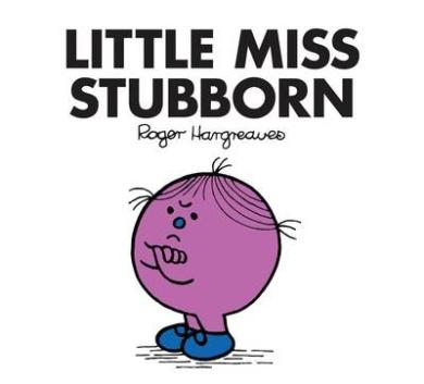 Little Miss Stubborn (Little Miss Classic Library)