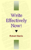 Write Effectively Now!