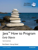 Java How To Program (Early Objects), Global Edition