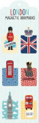 London (Magnetic Bookmarks)