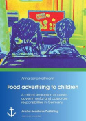 Food Advertising to Children