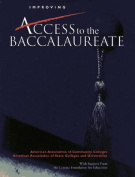 Improving Access to the Baccalaureate