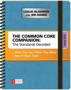 The Common Core Companion: The Standards Decoded