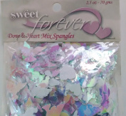Special Occasions Spangles - Doves and Hearts - Confettti