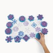 Fantastic Foam Snowflake Stamps