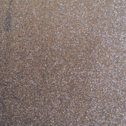Glitter Foam 8.5 x 11 10 sheets of Glitter Foamy Brown