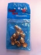 American Tag Lost Art Treasures Brass 1.1cm Star Nailhead