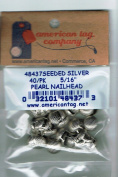American Tag Lost Art Treasures (48437) Seeded Silver Pearl 0.8cm