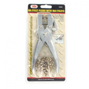 IIT Eyelet Pliers with 100 Eyelets