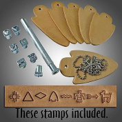 Springfield Leather Company Indian Lore Stamp Set Kit