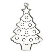 3 Christmas Tree Suncatcher