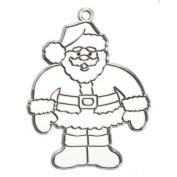 3 Santa Claus Suncatcher