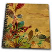 TNMGraphics Nature - Earth Toned Garden - Drawing Book
