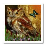SmudgeArt Wildlife Designs - Mr Owl - Iron on Heat Transfers