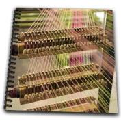 Danita Delimont - Traditional Crafts - Ireland, Handweavers Mill, weaving, traditional craft - EU15 KWI0022 - Kymri Wilt - Drawing Book