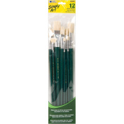 Loew Cornell 1021082 Simply Art Bristle Brush Set