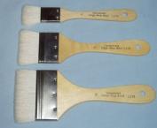 3 Large Area Soft Wash Paint Brushes~gesso, Basecoating