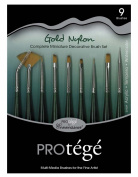 Connoisseur Mini Brush Set, 9-Piece