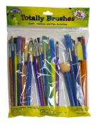 Loew Cornell 75 25-Piece Brush Set, Totally Brush