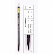 0.8x3.8cm Xianmitabei Liuti Zhengkai Mixed Hair Zhouhuchen Tiger Chinese Calligraphy and Painting Brush